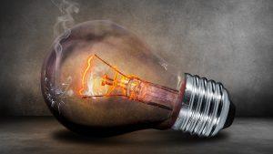 Light Bulb Menu Background